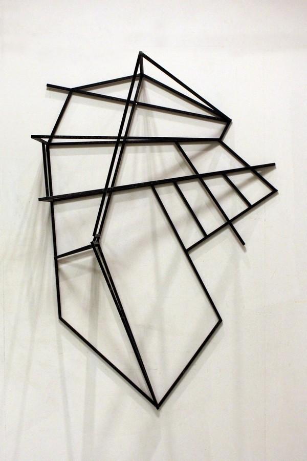 Vertical landscape  [Wood construction. 156 x 106 x 49 cm. 2011.]
