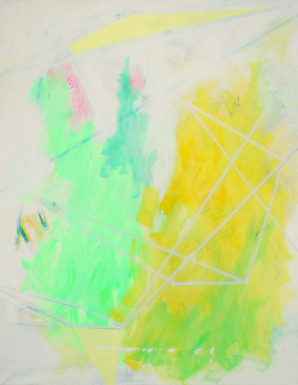 Once a folly  [Acrylic on canvas. 111 x 89 cm. 2012-2015.]