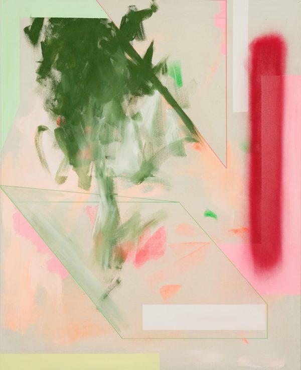 Spring. [Acrylic on canvas. 125 x 100 cm. 2019.]